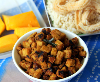 Senai kizhangu Fry - Chena Fry - Suran Fry -  Yam Fry - Simple side recipe