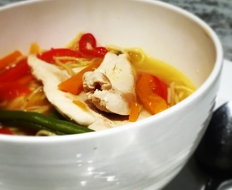 Aromatic Thai Chicken Noodle Soup