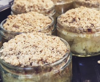 Healthy Apple Crumble | Healthy Apple Crumble Pots