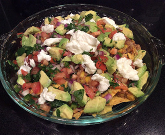 Super Healthy Veggie Nachos