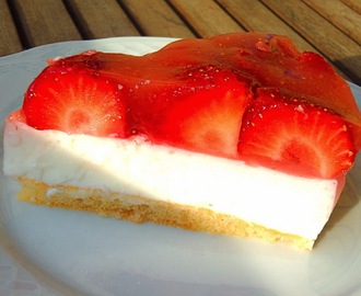 Pastel de fresas light - Pastís de maduixes light