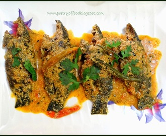 Koi Machher Sorshe Jhal... Climbing Perch in Mustard Seeds Paste...!