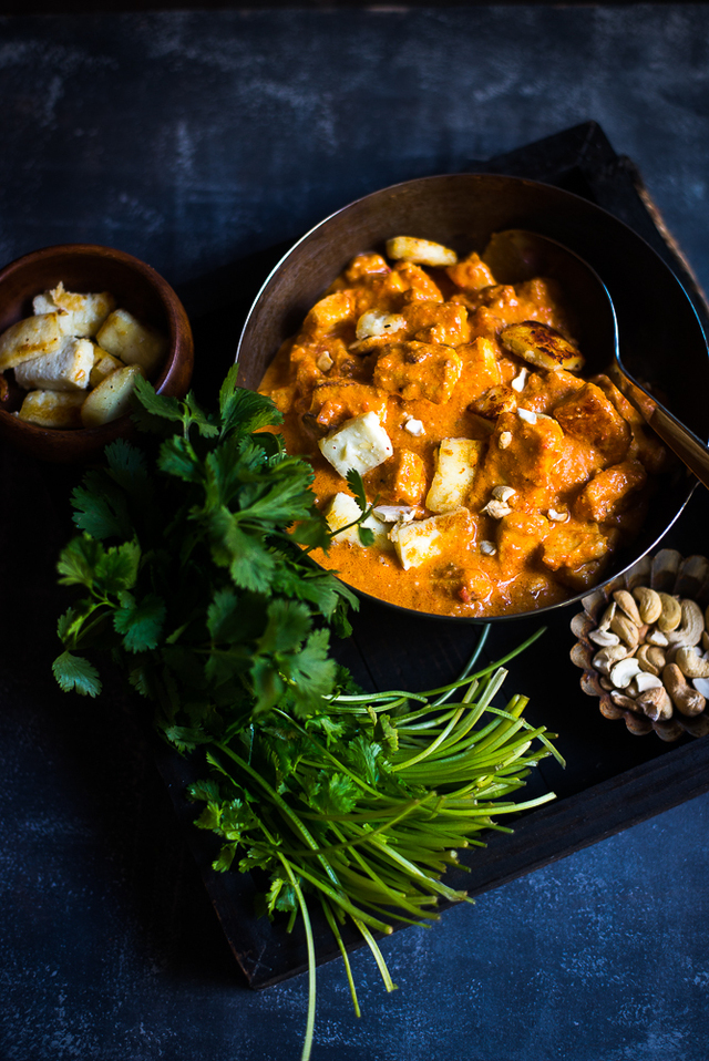 Paneer Butter Masala ( the Easy and Healthy way )