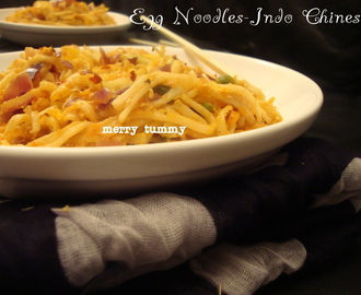 Egg Noodles- Indo-Chinese, With Vegetables
