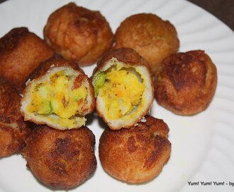 Bread Bonda (Step - by - Step)