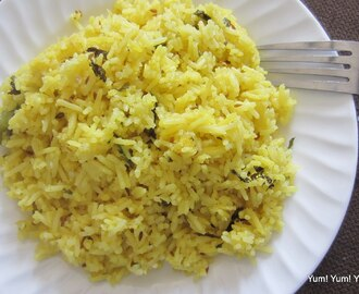 Jeera Pulao ~ Cumin Seeds Flavored Rice