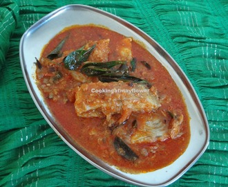 Fish roast in cashew gravy