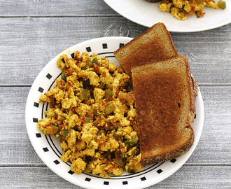 Tofu bhurji recipe
