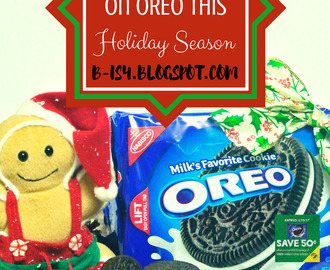 Snack & Save with OREO this Holiday Season