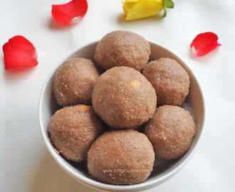 Red Aval Laddu – Red Poha Ladoo