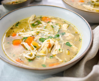 Simple Chicken Potato Soup