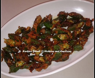 Kurkure Bhindi/Crispy Ladies Finger