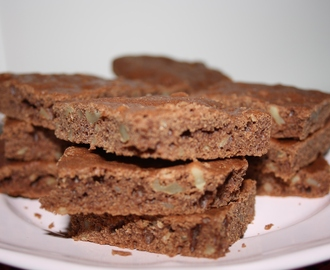Brownie de Chocolate y Nueces SIN GLUTEN