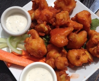 Meatless Monday= Buffalo Cauliflower Wings