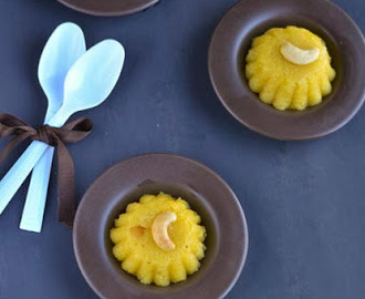 Pineapple Rava Kesari/Pineapple Kesari/Pineapple Semolina Pudding