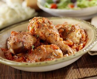 Crock Pot Chicken Cacciatore Recipe