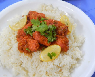 Luscious Chicken Tikka Curry made in 30 minutes