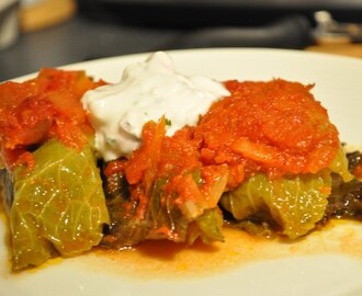 Polish-Style Stuffed Cabbage Rolls