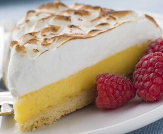 Lemon pie light