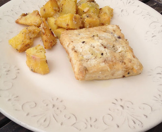 Meatless Monday ~ Tofu assado com batata doce.