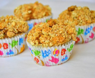 Muffins integrais de banana com manteiga de amendoim e pepitas de chocolate e Wedding Diary #5