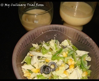 Green salad with Sweet Corn and Olives | Awards Again