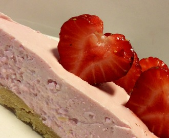 Lchf  Sommer Hallon / Lime CheeseCake