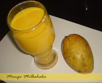 The one where Mangoes are blended two ways