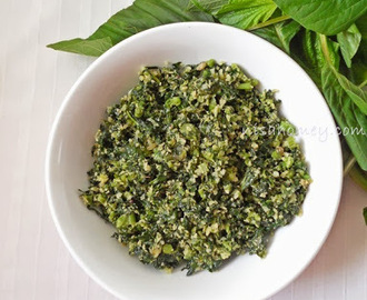 Nadan Cheera Thoran / Spinach Stir Fry