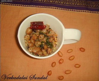 Day 1#: Verkadalai Sundal / Groundnut Sundal | Navarathiri Recipes