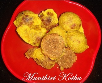 (Amma Cooks) Munthiri Kothu / Roasted Green gram balls ~ Diwali Sweet Recipes