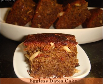Eggless Butterless Dates Cake | Christmas Cake Recipes | Easy Baking Recipes