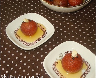 Gulab Jamuns (milk powder method) ...and two wonderful years