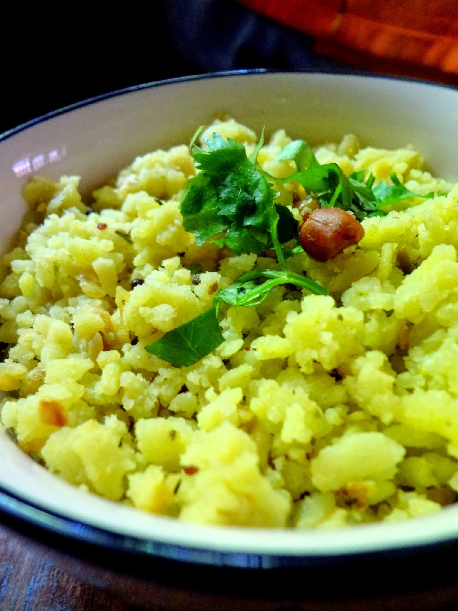 No cook Instant Poha /Beaten rice flakes/Aval Upma