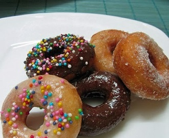 Eggless Mini Doughnut