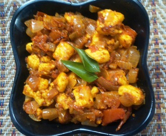 Paneer Fry or Curry