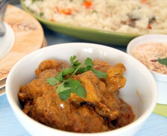 Anglo-Indian chicken curry (aka Ooty Club Chicken Curry)