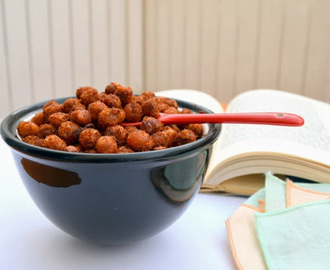 Crispy Spicy Chickpeas