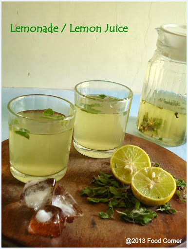 Lemonade | Lemon Juice | Healthy Juice Recipe | Summer drinks Recipe