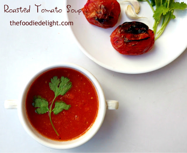Easy Tomato Soup Recipe | How to Make Roasted Tomato Soup