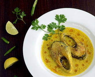 Ilish Shorshe | Hilsa in Mustard Sauce