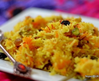 Zarda ~~ Sweet Rice Pulao