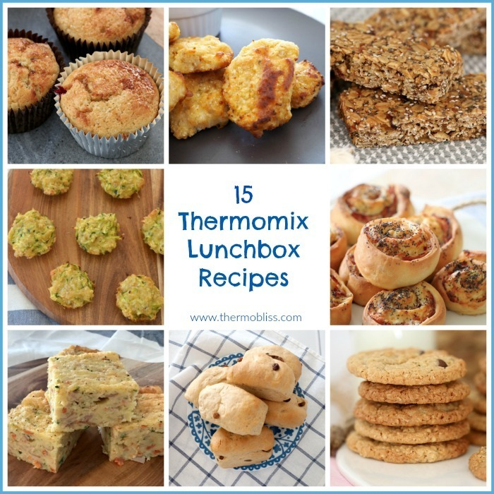 Easy Thermomix Lunchbox Recipes