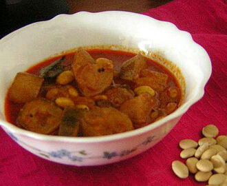 MOCHAI (DRY FIELD BEAN) CURRY
