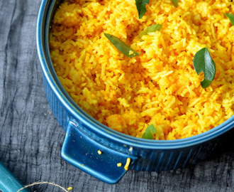 Lemon Rice : Am officially a Rice Lover now :D
