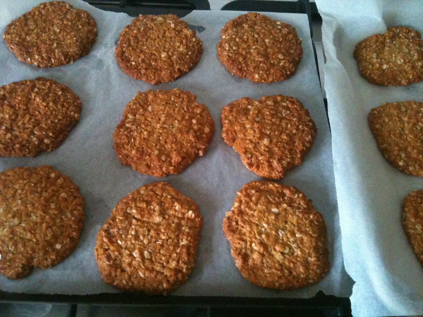 Anzac Biscuits and Chocolate Nut Biscuits