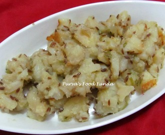 Upvasachi Batata Bhaji  (Spicy Potato Stir-fry For Fasting)