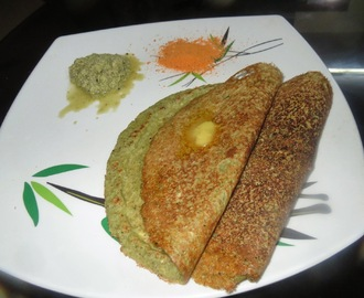 Whole Moong & Navane Dosa