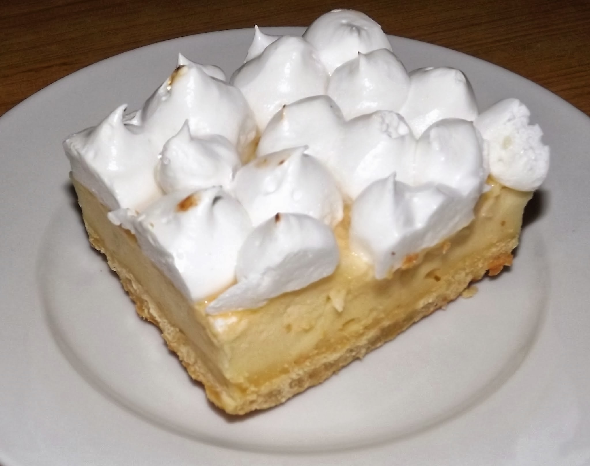 LEMON MERINGUE BARS - BARRITAS DE LIMÓN Y MERENGUE -
