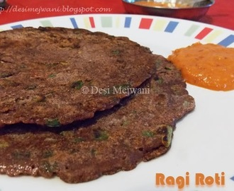 Finger Millet Pancake/ Ragi Roti - Authentic and Instant Version Recipes